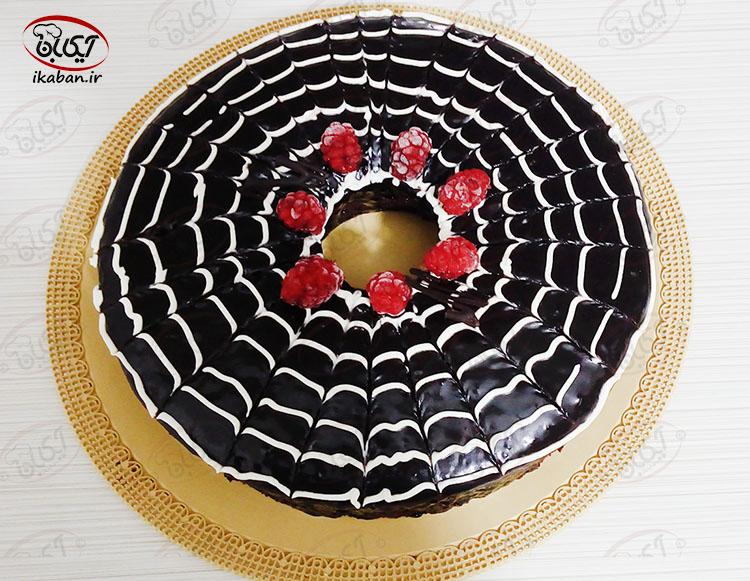 کیک شکلاتی با رویه گاناش