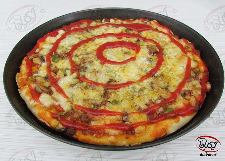 پیتزا گوشت