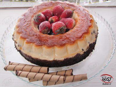 کیک کرم کارامل