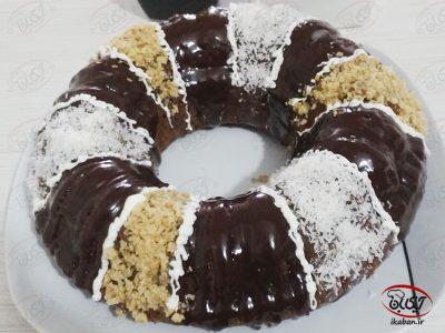 کیک شکلاتی با عسل