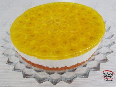 چیز کیک با رویه ژله