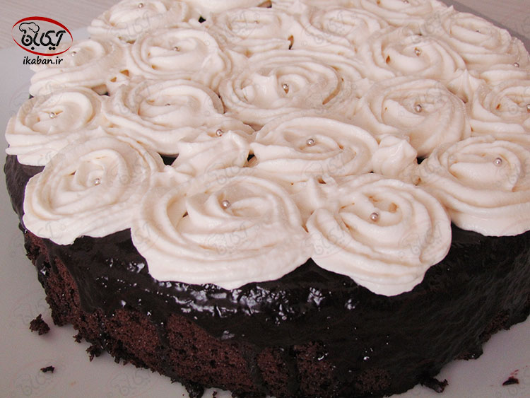کیک شکلاتی دوبل