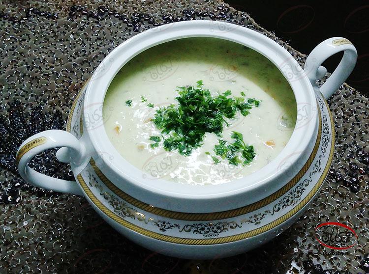 سوپ خامه ای