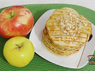 پنکیک سیب و دارچین