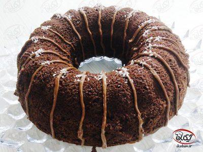 کیک شکلاتی نوتلا