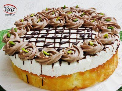 چیز کیک وانیلی