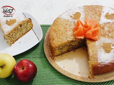 کیک سیب و هویج
